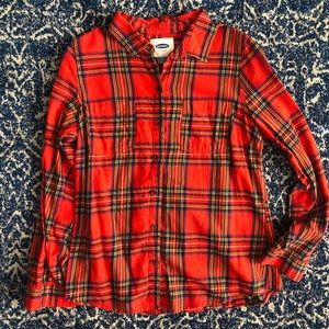 Old Navy Flannel - perfect for the holidays! Sz M